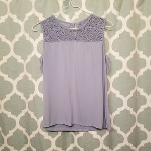 Calvin Klein Dressy Tank with Knit Top